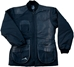 Wild Hare Cold Weather Coat -- Black Leather - WH-480L-BK-RH-L