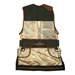 Wild Hare Heatwave Mesh Vest -- Forest Green & Brown - WH-425S-FB-RH-L