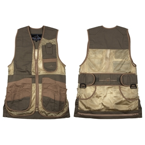 Wild Hare Heatwave Vest - Personalized mesh shooting vest, heatwave, trap, skeet, sporting clays vest, leather trap vest, leather shooting vest, wild hare vest, wild hare shooting gear
