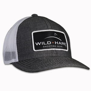 Wild Hare Shooting Gear Patch Hat With Mesh Back Wild hare hat, wild hare shooting gear hat, shooting hat