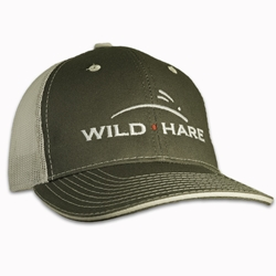 Wild Hare Shooting Hat With Mesh Back Structured Front Wild hare hat, wild hare shooting gear hat, shooting hat
